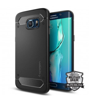 FUNDA SPIGEN CAPSULE ULTRA RUGGED GALAXY S6 EDGE PLUS