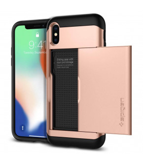 FUNDA SPIGEN SLIM ARMOR CS IPHONE X
