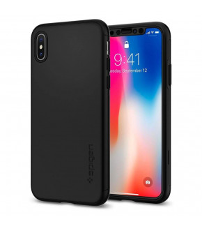 FUNDA SPIGEN THIN FIT 360 IPHONE X