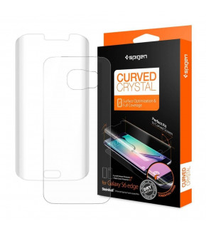 LAMINA SPIGEN CURVED CRYSTAL GALAXY S6 EDGE
