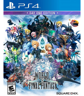 WORLD OF FINAL FANTASY - EDICION DE LANZAMIENTO