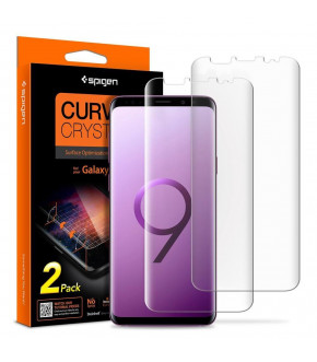 LAMINA SPIGEN CURVED CRYSTAL HD GALAXY S9 PLUS