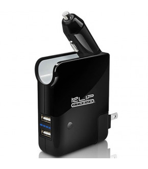 CARGADOR KLIP DUAL USB 3-1