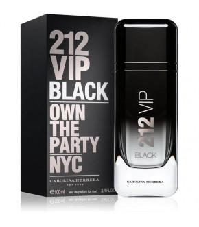 PERFUME CAROLINA HERRERA 212 VIP BLACK EDT MASCULINO