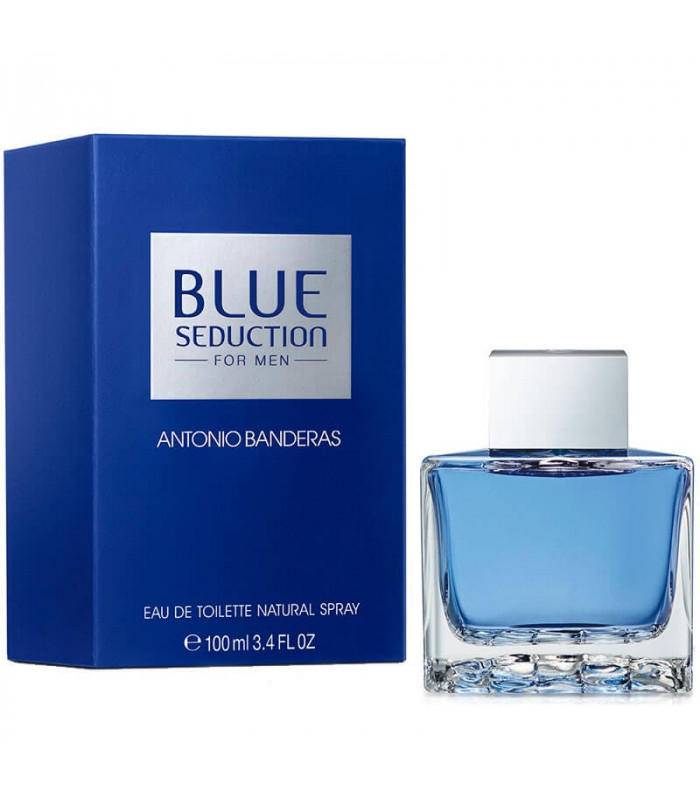 PERFUME ANTONIO BANDERAS BLUE SEDUCTION EDT MASCULINO