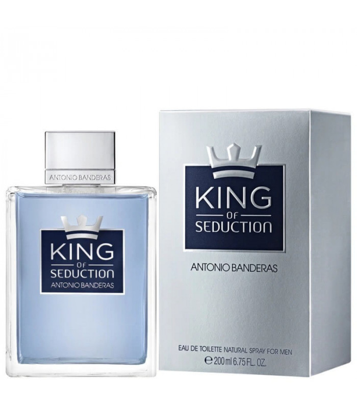 PERFUME ANTONIO BANDERAS KING OF SEDUCTION EDT MASCULINO