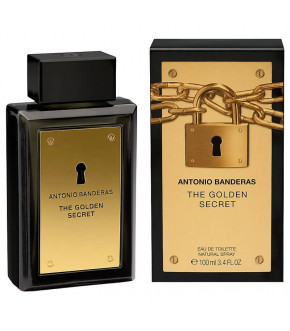 PERFUME ANTONIO BANDERAS THE GOLDEN SECRET EDT MASCULINO