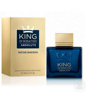 PERFUME ANTONIO BANDERAS KING OF SEDUCTION ABSOLUTE EDT MASCULINO