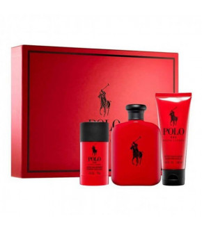 KIT RALPH LAUREN POLO RED MASCULINO