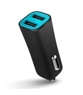 CARGADOR DE AUTO ILUV MOBISEAL 2 USB