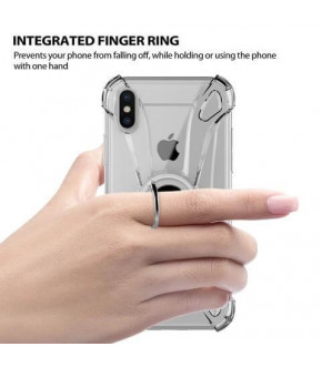 FUNDA ILUV IPHONE X CRYSTAL RING