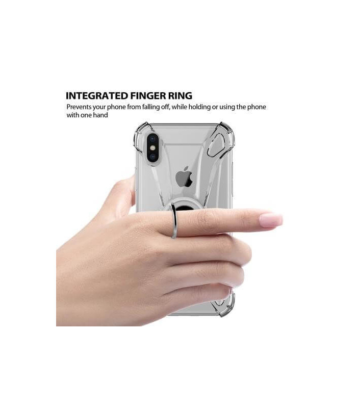 FUNDA ILUV IPHONE X CRYSTAL RING
