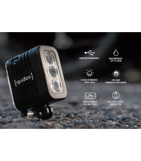 LINTERNA QUDOS GOPRO ACTION CAMERA