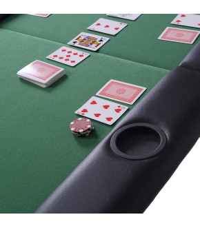 MESA DE POKER PLEGABLE DE 8...