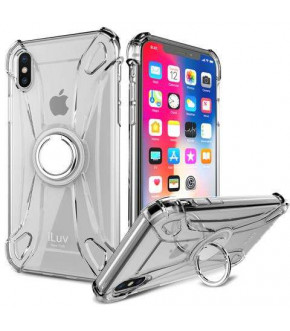 FUNDA ILUV CRYSTAL RING IPHONE XR