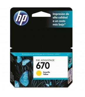 TINTA HP 670