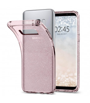 FUNDA SPIGEN LIQUID CRYSTAL GLITTER GALAXY S8 PLUS