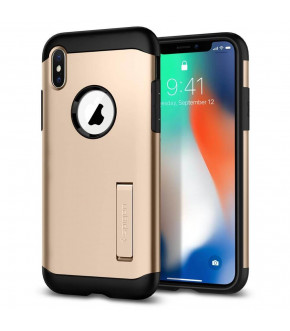 FUNDA SPIGEN SLIM ARMOR IPHONE X