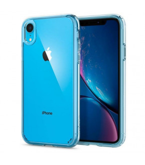 FUNDA SPIGEN ULTRA HYBRID IPHONE XR Crystal Clear