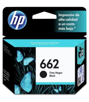 TINTA HP CZ103AL 662 NEGRO